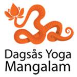 Logga Dagsås yoga Mangalam