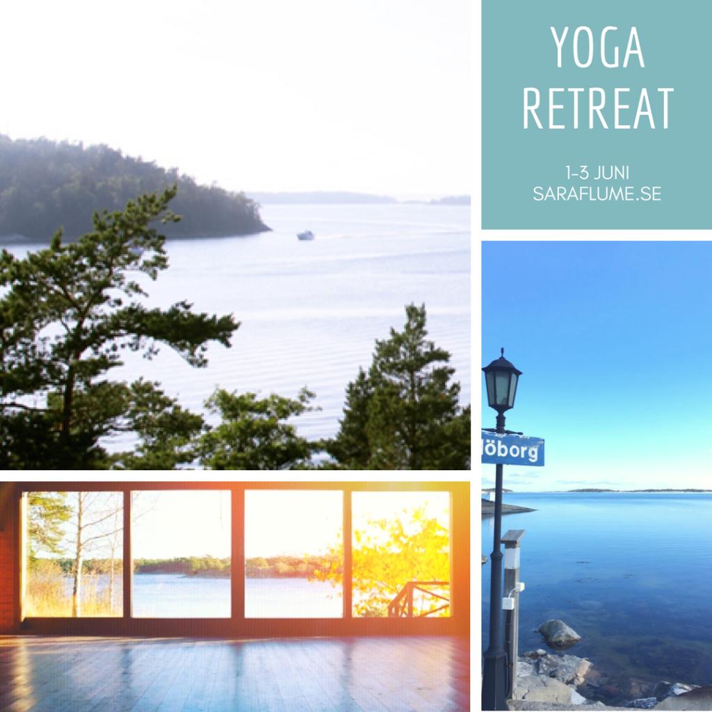 Yoga Retreat i Skärgården 1 - 3 Juni