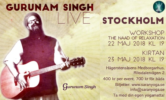 Grace of God Tour - Gurunam Singh live in Stockholm