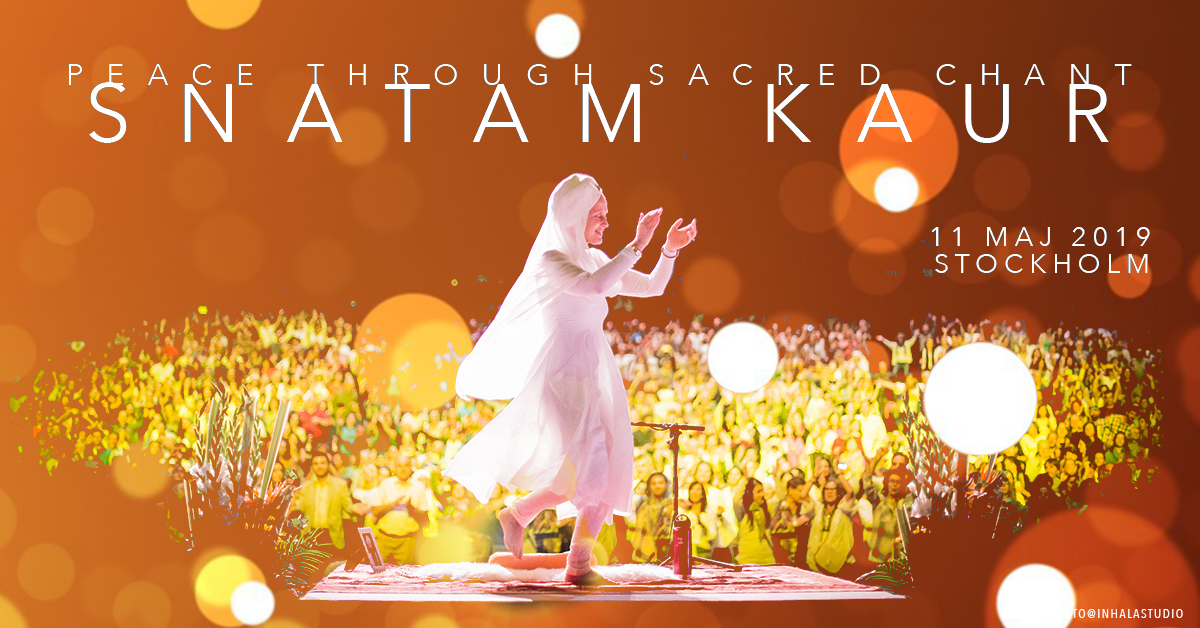 Snatam Kaur - Peace through Sacred Chant - konsert